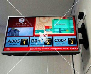 Digital Signage Untuk Mesin Antrian