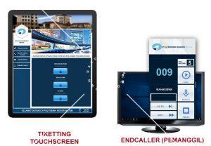 Ticketing Touchscreen KiosK Mesin Antrian